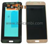 DISPLAY LCD + TOUCH DIGITIZER DISPLAY COMPLETE WITHOUT FRAME FOR SAMSUNG GALAXY J7 (2016) J710F GOLD ORIGINAL