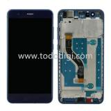 TOUCH DIGITIZER + DISPLAY LCD COMPLETE + FRAME FOR HUAWEI P10 LITE BLUE