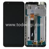 DISPLAY LCD + TOUCH DIGITIZER DISPLAY COMPLETE + FRAME FOR ASUS ZENFONE LIVE (L1) ZA550KL X00RD BLACK