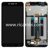 DISPLAY LCD + TOUCH DIGITIZER DISPLAY COMPLETE + FRAME FOR ASUS ZENFONE LIVE ZB501KL A007 X00FD BLACK